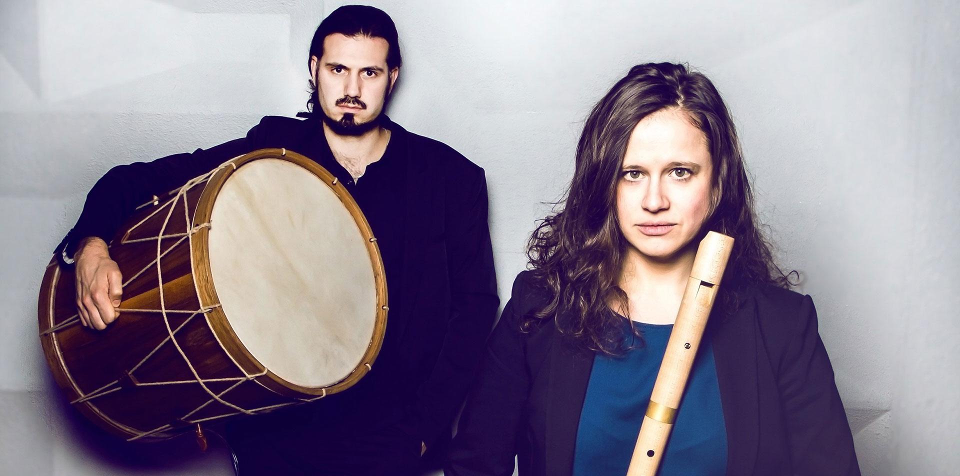 duo lamprecht - Musikerduo - Anne Enßle und Phillip Lamprecht